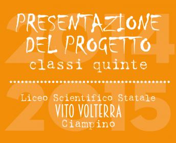 presentazione al liceo Volterra di Ciampino